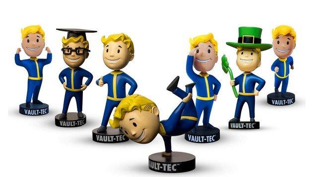 Fallout Vault Boy Bobblehead Set mit 7 Figuren für 32,68€ (statt 44€)