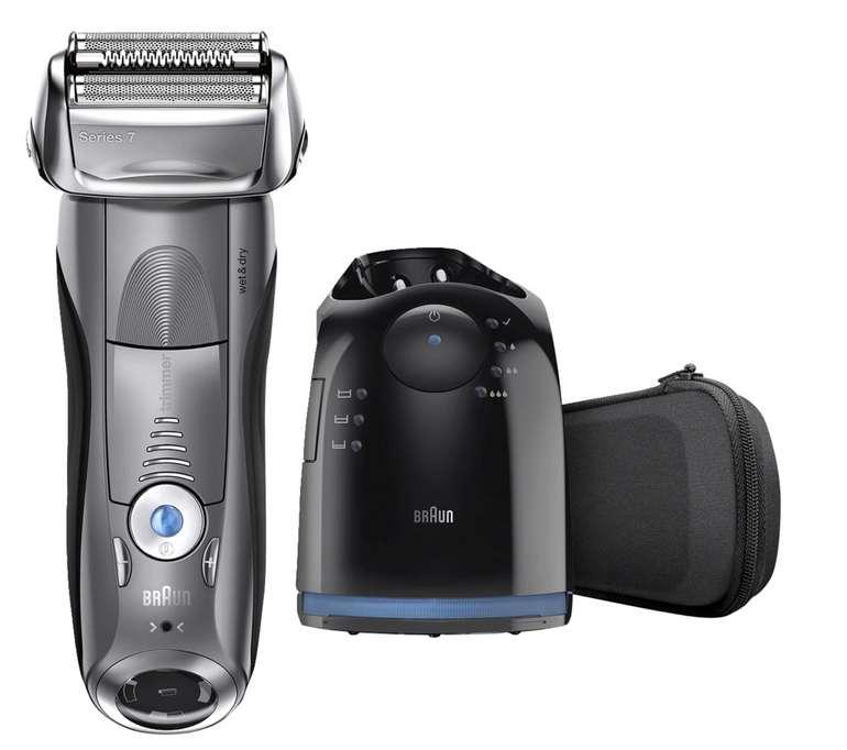 Braun Elektrorasierer Series 7 7865cc für 149€ inkl. Versand (statt 177€)
