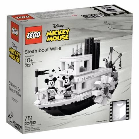 Lego Ideas - Steamboat Willie (21317) für 64,99€ inkl. Versand (statt 80€)