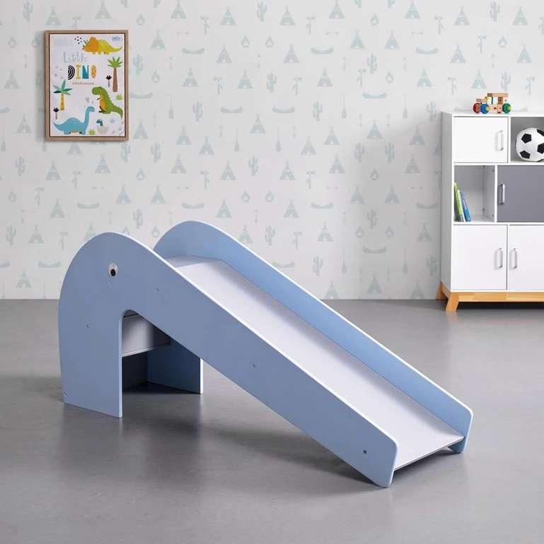 Bessagi Kids Kinderrutsche in Grau/Blau für 89,25€ inkl. Versand (statt 125€)