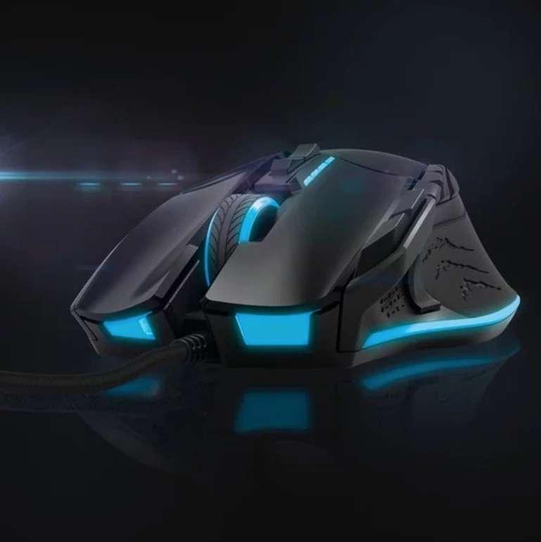 Hama uRage Reaper Revolution Gaming Mouse (ergonomisch, kabelgebunden, 13 Tasten, 8200 dpi) für 33€