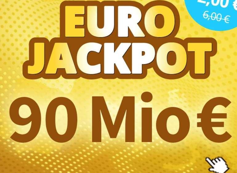 90 Mio € im Pott: Verschiedene Aktionen, z.B. 1.000 Tipps (System-Chance) für nur 1€ (statt 10€)