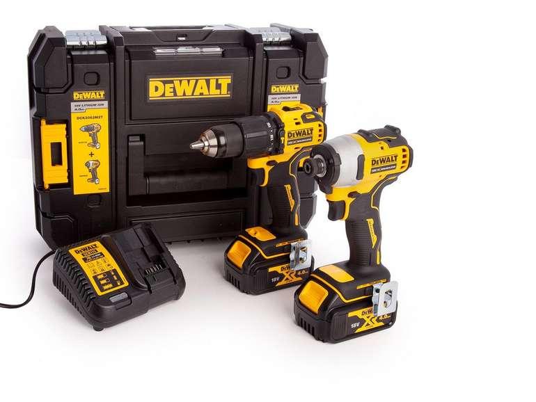 DeWalt 18-V-Akku-Werkzeugset (DCK2062M2T) für 288,90€ inkl. Versand (statt 392€)