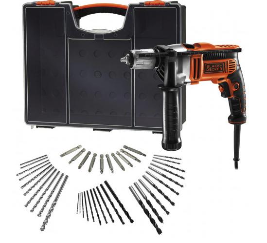 """Black & Decker Schlagbohrmaschine """"KR806OA-QS"""" mit 850 Watt für 66,49€ inkl. Versand (statt 76€)"""