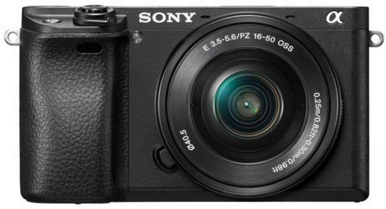 Sony Alpha 6300 Systemkamera mit 16-50mm Objektiv (24,2 MP, 4K) für 657,75€ inkl. Versand