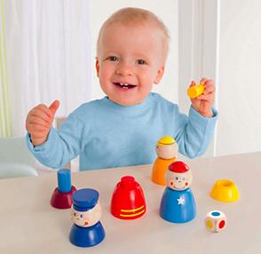 Geschenke für Kinder im Sale bei Vente-Privee - z.B. Haba Steckspiel für 10,99€