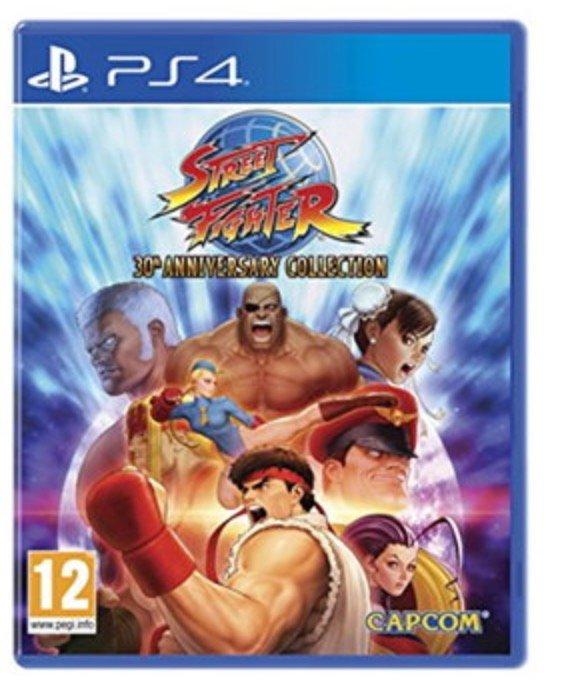 Street Fighter: 30th Anniversary Collection (PS4) für 14,33€ (Vergleich: 19€)