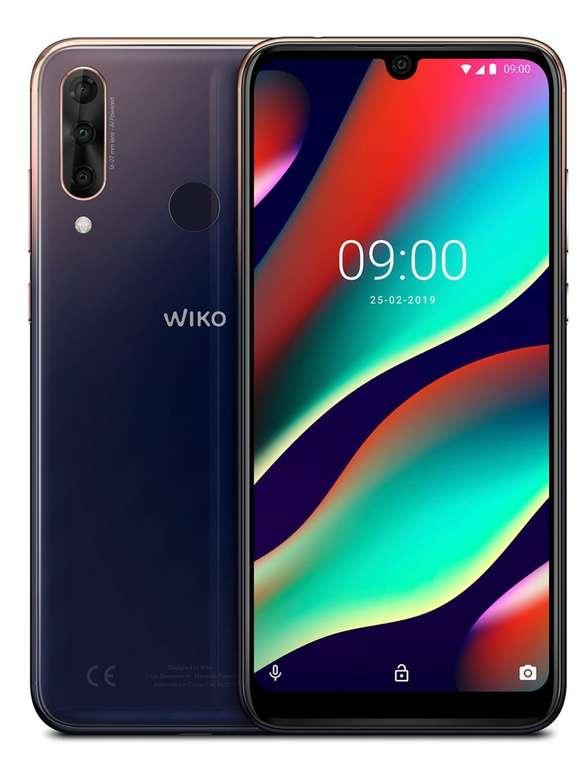 WIKO View 3 Pro Smartphone mit 128GB in Anthracite Blue/Gold für 199€ inkl. Versand (statt 228€)