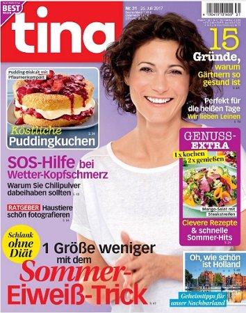 """Bis zu 14 Ausgaben """"Tina"""" + Knirps Regenschirm für 5,70€ (PVG: 29€)"""