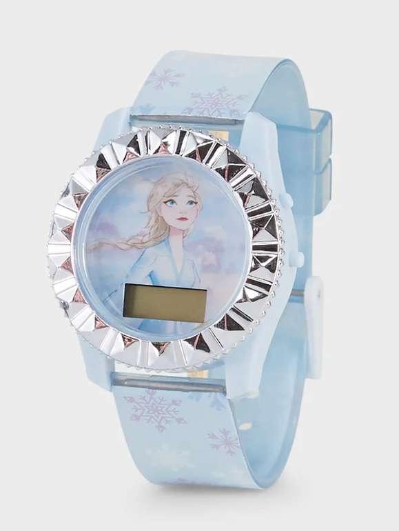 C&A: Die Eiskönigin Armbanduhr in blau für 5,99€inkl. Versand (statt 10€)