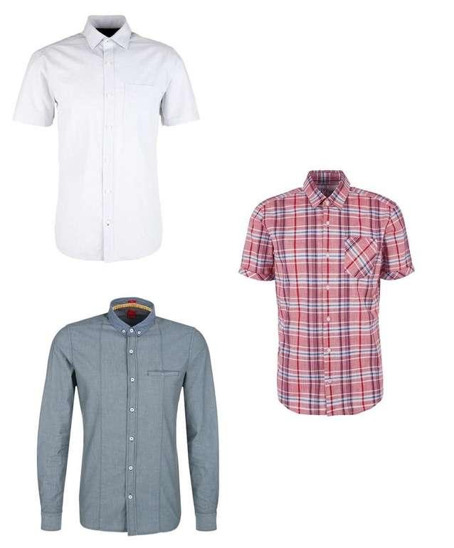 3er Pack s.Oliver Herren Hemden ab 30€ inkl. Versand (statt 66€)