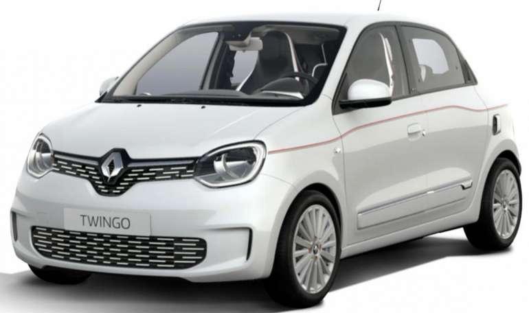 Privat- und Gewerbe: Renault Twingo mit 82 PS für 99€ brutto mtl. (LF: 0.37, Überführung: 899€)
