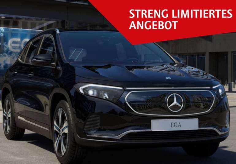 Privat Leasing: Mercedes-Benz EQA 250 Elektro mit 190 PS für 451€ mtl. (BAFA, ÜF: 670€, LF: 0.83) – sofort verfügbar!