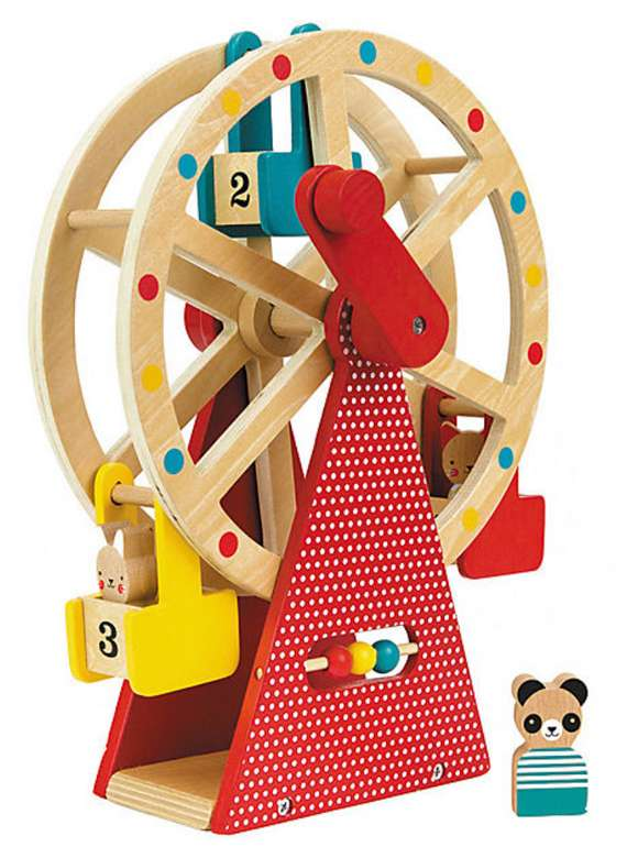 Petit Collage Jahrmarkt Holz Riesenrad für 33,94€inkl. Versand (statt 43€)