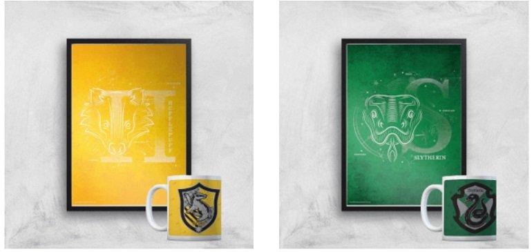 Harry Potter Bundle 325ml Tasse + Kunstdruck