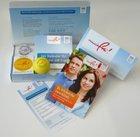 Gratis Nichtraucher Paket mit Kalender, Pfefferminzpastillen und Relax-Ball