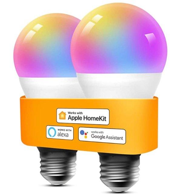 2er Pack Refoss E27 WLAN LED Leuchtmittel (Alexa, Google & Homekit kompatibel) für 17,25€ inkl. Prime (statt 25€)