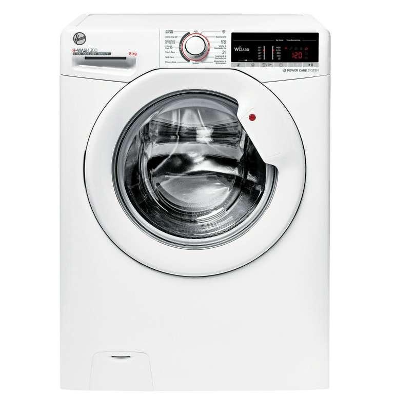 """Hoover """"H3WSQ 483TAE-84"""" Waschmaschine Frontlader (A+++, 8kg, 1400 U/min) für 289,90€ inkl. Versand (statt 320€)"""