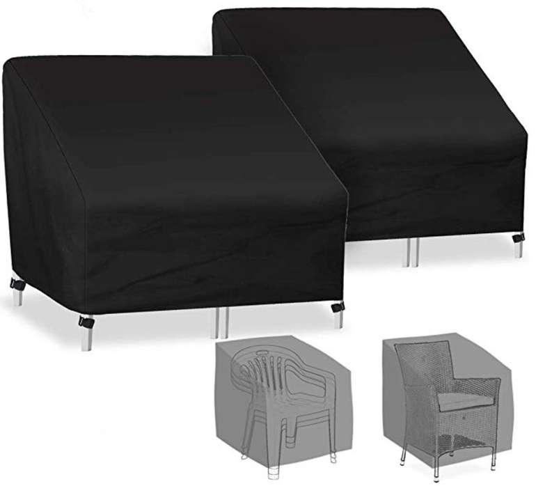2er Pack Caveen Schutzhüllen für Gartenstühle (89 x 97 x 74cm) für 17,49€ inkl. Prime (statt 25€)