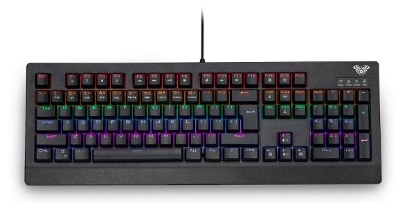 Aula Demon King – beleuchtete mechanische Tastatur für 22€ inkl. Versand