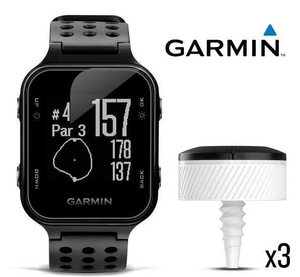 Garmin Approach S20 Golf-Smartwatch + CT10 Golftracker für 155,90€ (statt 230€)