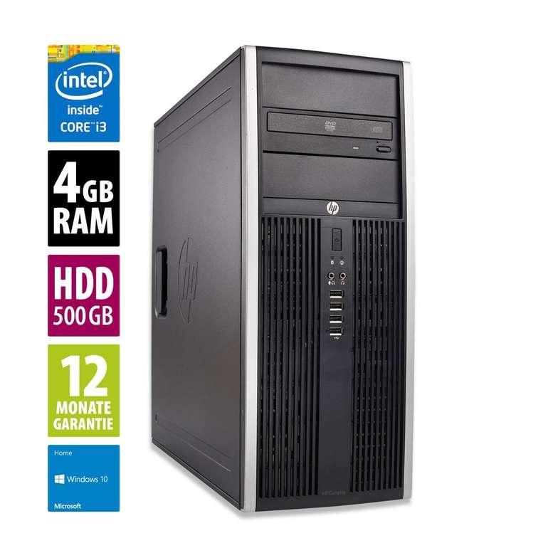 HP Elite 8300 CMT Office PC (Core i3-3220, 3,3 GHz 3. Gen, 4GB RAM & 500GB HDD) für 79€