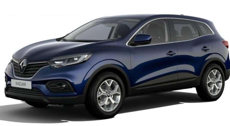 Gewerbeleasing: Renault Kadjar mit 140 PS für 79€netto mtl. (LF: 0.30, Überführung: 790€)