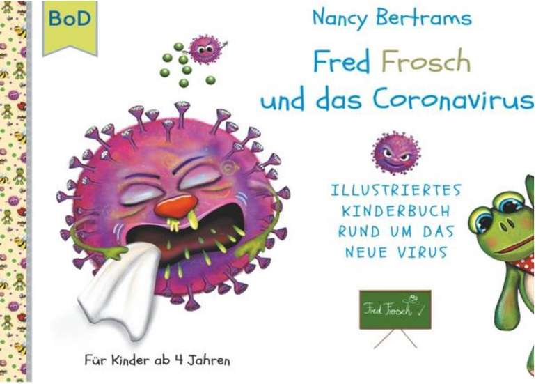 eBook: Fred Frosch und das Coronavirus von Nancy Bertrams für 4,99€ (statt 10€)