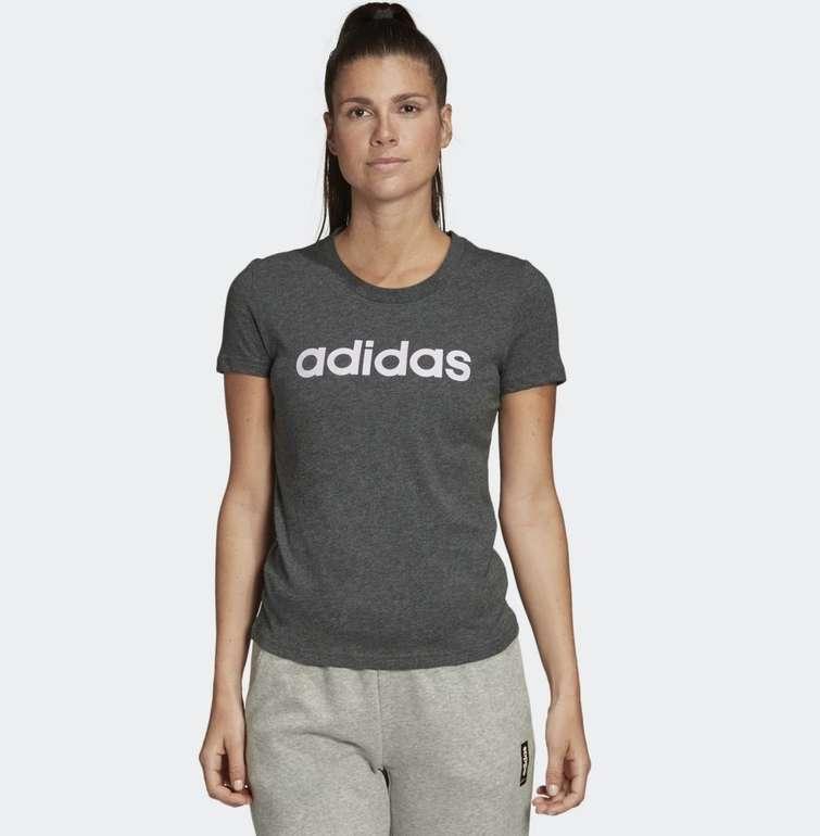Adidas Damen T-Shirt Essentials Linear für 8,50€ inkl. Versand (statt 17€) - Creators Club