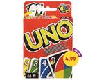 Kartenspiel: UNO mit 108 Spielkarten für 4,99€ inkl. Versand (statt 10€)