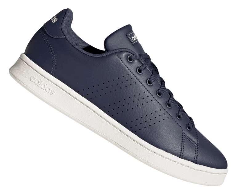 Adidas Freizeitschuh Advantage in dunkelblau/weiß für 39,95€ inkl. Versand (statt 45€)