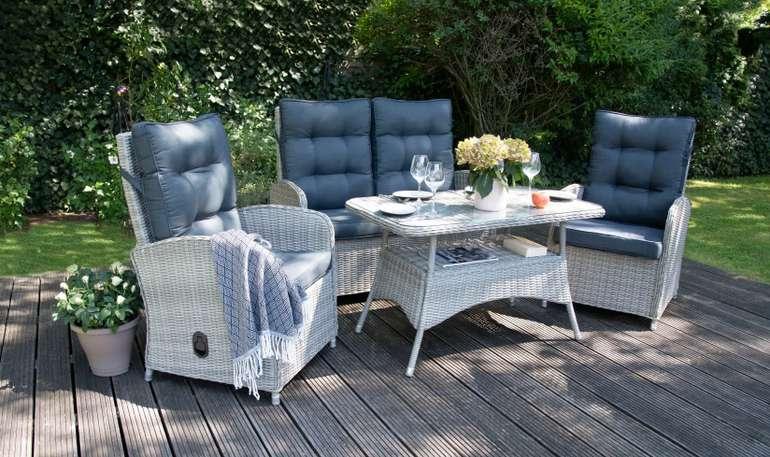 """Bellavista Aluminium Dining Set """"Monte Carlo"""" für 829,99€ inkl. Versand (statt 1.150€)"""