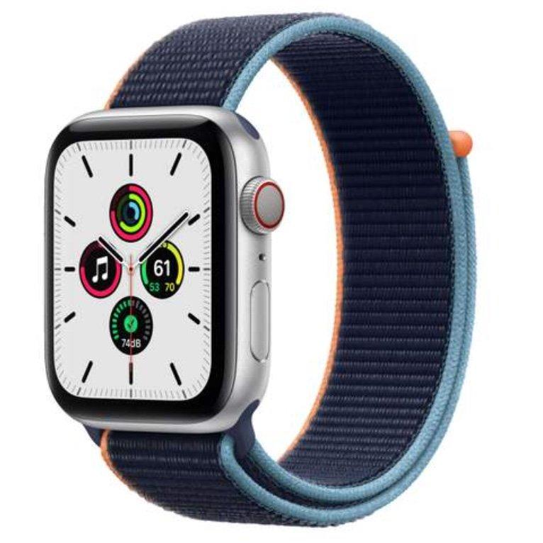 Apple Watch Angebote auf eBay (Lieferung vor Xmas!) - z.B. Apple Watch SE (GPS + Cellular) 44mm Nylon für 332,46€