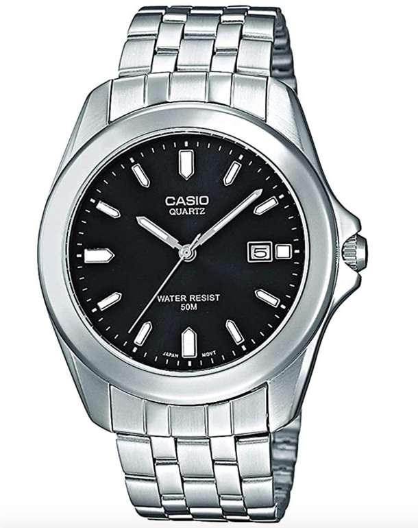 Casio MTP-1222A-1AVEF Herren Analog Quarz Uhr mit Edelstahl Armband für 28,71€ inkl. Prime Versand