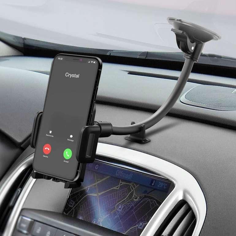 Mpow Windschutzscheiben Handyhalterung für 6,99€ inkl. Prime VSK