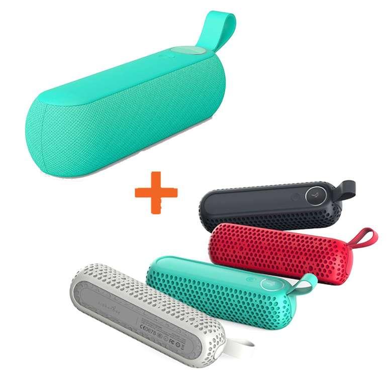 Hot! Libratone TOO Bluetooth Lautsprecher green inkl. 4x Rubber Cover für 59,99€ (statt 83€)