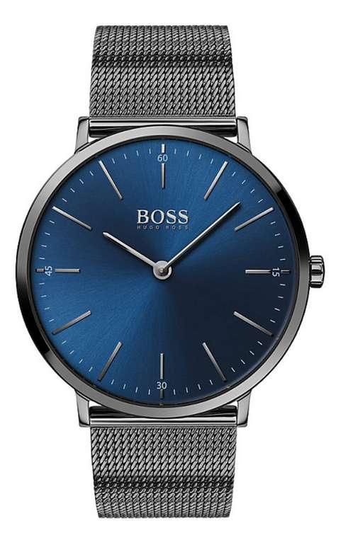 Hugo Boss Herrenuhr (1513734) in blau für 162,70€inkl. Versand (statt 179€)