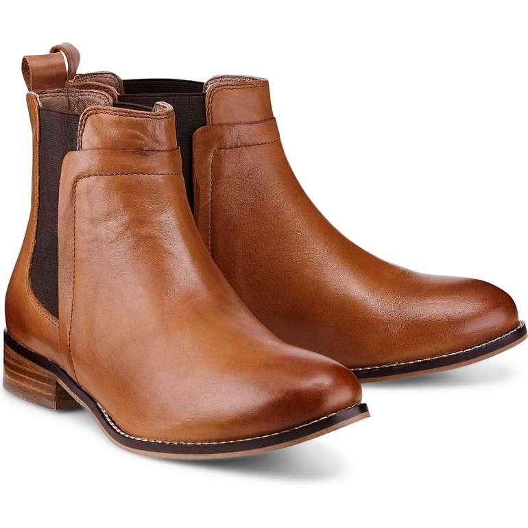 Cox Chelsea-Boots in hellbraun für 49,70€ inkl. Versand (statt 63€)