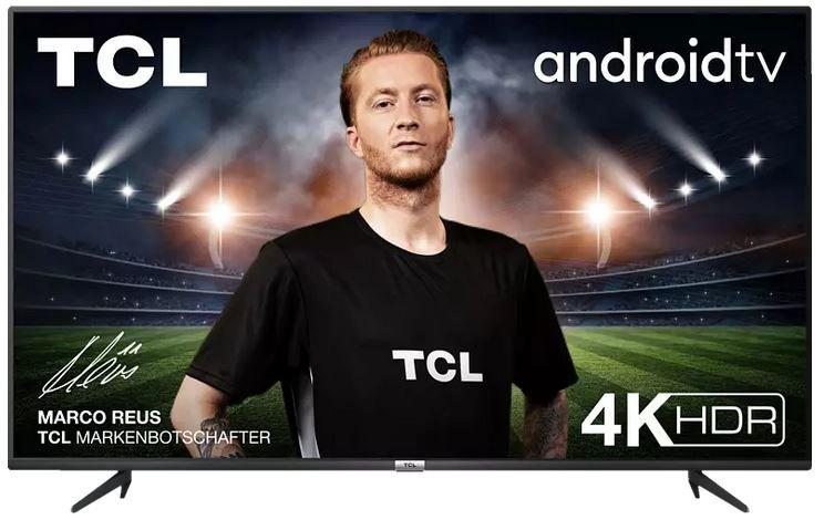 TCL 75 P 618 LED TV (Flat, 75 Zoll / 189 cm, UHD 4K, SMART TV, AndroidTV 9.0) für 828,25€ (statt 899€)