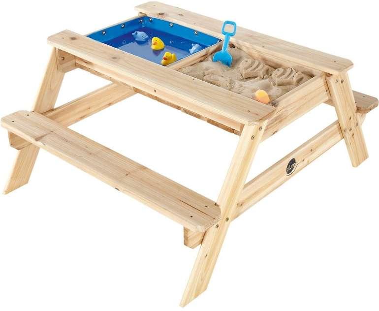 Plum Kinder Picknicktisch mit Sandkasten & Wasserspiel für 49,99€ inkl. Versand (statt 66€)