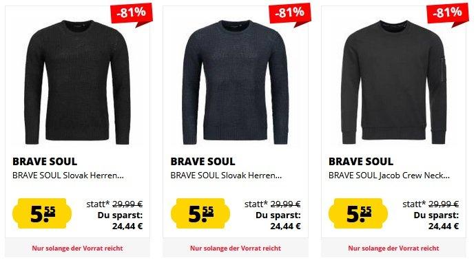 Verschiedene Brave Soul Sweatshirts 2