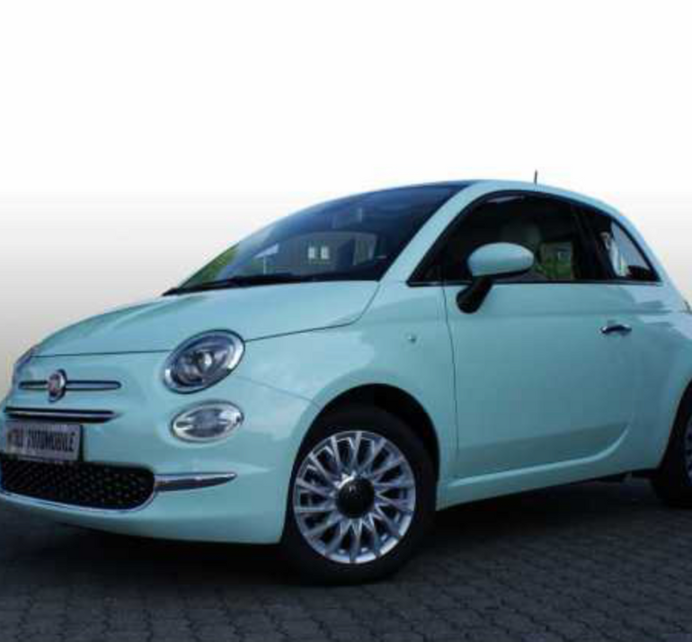 privat leasing fiat 500 1 2 lounge mit panorama glasdach f r. Black Bedroom Furniture Sets. Home Design Ideas
