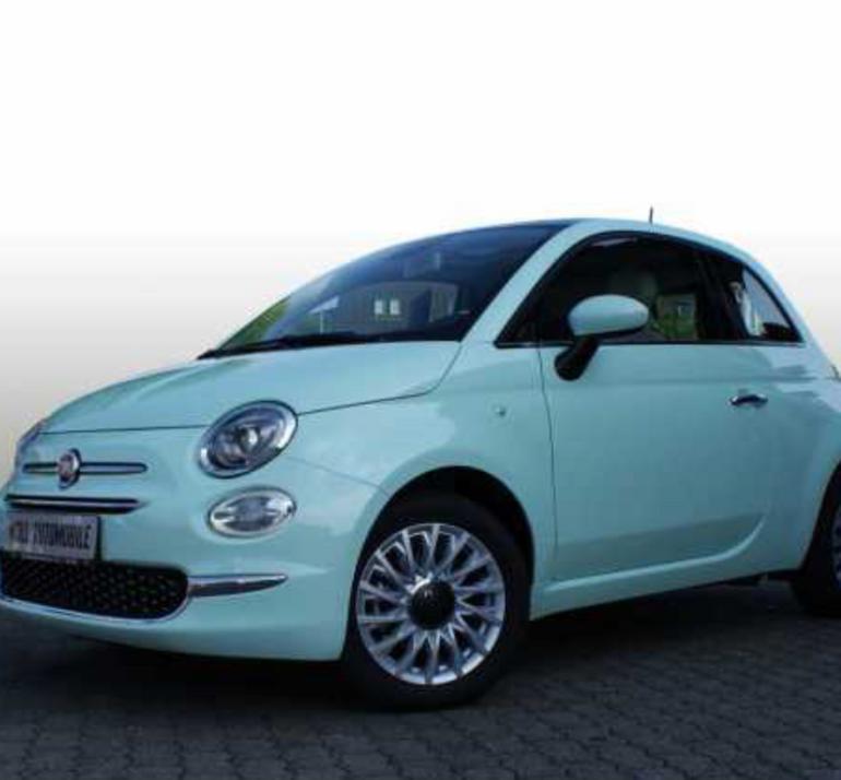Privat Leasing: Fiat 500 1.2 Lounge mit Panorama Glasdach für 79€ mtl (LF: 0,42)