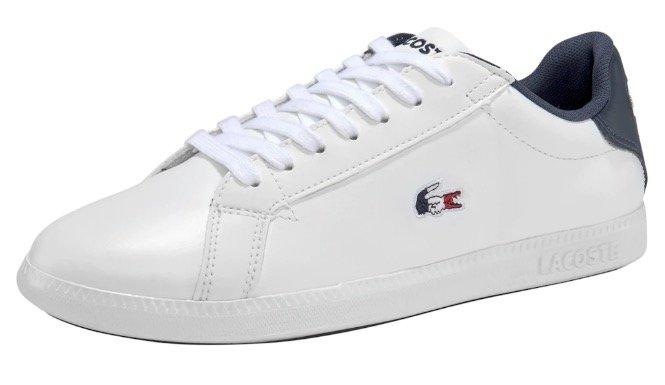 "Lacoste Damen Sneaker ""Graduate Tri"" für 59,43€ inkl. Versand (statt 69€)"