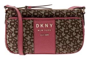 DKNY Crossbody Bag mit Lederbesatz in Rosé für 83,99€ inkl. Versand (statt 120€)
