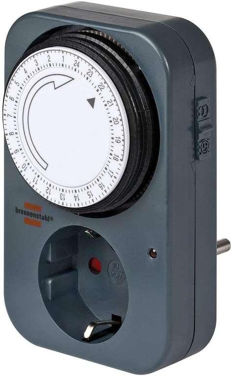 Brennenstuhl Zeitschaltuhr MZ 20 - mechanische Timer-Steckdose für 3,01€ mit Prime Versand (statt 7€)