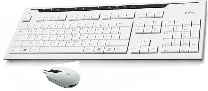 FUJITSU KB520 Tastatur + M500T Maus für 16,50€ (statt 20€)