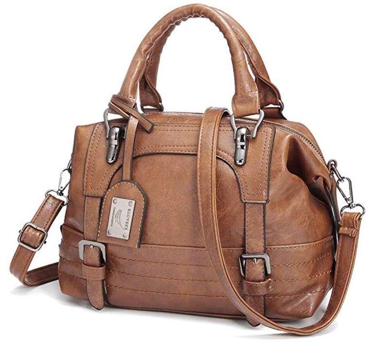 Joseko Damen Handtasche aus Kunstleder für 16,99€ inkl. Prime Versand (statt 27€)