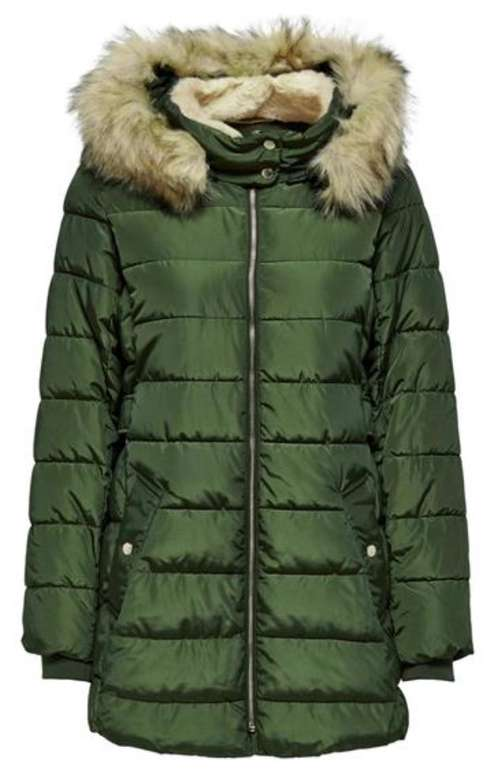 Only Onlcamilla Hood Fur Coat Otw Damen Parka für 44,99€ inkl. Versand (statt 58€)