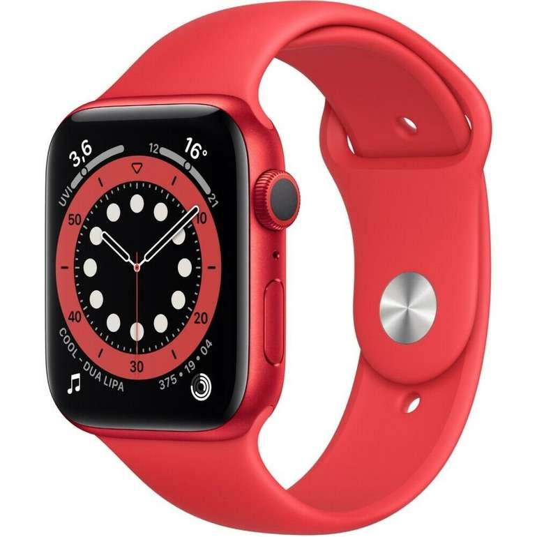 Apple Watch Series 6 (GPS) 40mm Aluminium in rot für 332,91€ inkl. Versand (statt 368€)